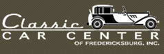 Classic Car Center Inc Fredericksburg Va